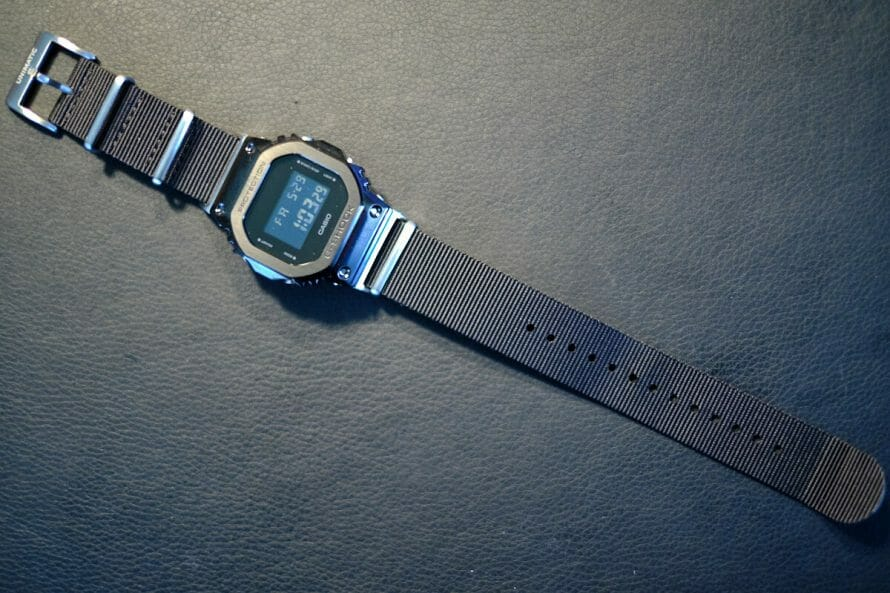 casio with nato